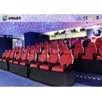Quality Accurate Motion 5D Movie Theater Seats for sale