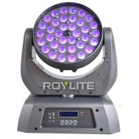 Wholesale 10°- 60° Zoom LED Wash Moving Head 36 Units 10w RGBW Quad High Power from china suppliers