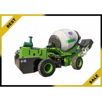 China 3.2 M³ Mobile Concrete Mixer Truck Electronic Hydraulic  Automatic Feeding on sale