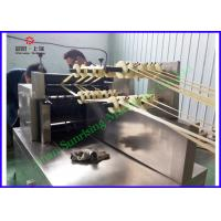 Wholesale Extruded Fried snack food production line 3D Flour Bugles Chips Making machine from china suppliers