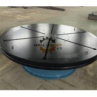 Heavy Duty Welding Turn Table Infinitely Variable Rotation Speeds For Automatic Welding