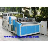 Wholesale Perforated Paper Cutting Jumbo Roll Slitting Machine , Toilet Paper Rewinding Machine from china suppliers
