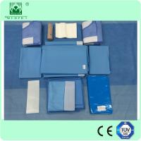 Buy cheap High Quality Disposable Nonwoven ETO Sterilized Hip Surgical Drape Pack from Wholesalers