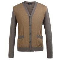 China Eco Friendly Fashion mens wool cardigan sweaters for Spring , Autumn on sale