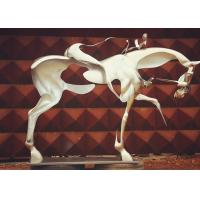Wholesale Spectacular Incomplete Horseman Outdoor Metal Sculpture Forging Technique from china suppliers