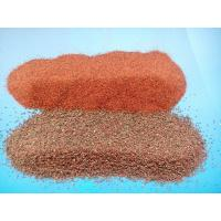 Wholesale garent sand for sandblasting or waterjet cutting from china suppliers
