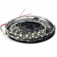 China Narrow Side IP65 Waterproof 5730 LED Strip Flexible Light 12V Width 4.7mm Black / White PCB 60led/M for sale