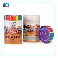 Wholesale Round Paper Tin Can from china suppliers