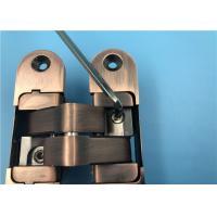 China Industrial Hidden Door Hardware Hinge / Heavy Duty Invisible Door Hinges for sale