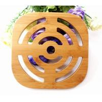 Wholesale Bamboo Cup Dish Pot Coaster Heat Insulation Mat from china suppliers