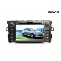 Buy cheap OEM Toyota auris 2008-2011 android 7 inch car DVD/ bluetooth/GPS navigation from wholesalers
