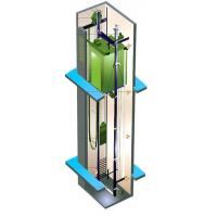 Buy cheap Residential Lift Elevator Machine Room Less Maximum Travelling Height 90m from Wholesalers
