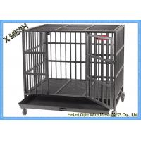 Wholesale Powder Coated Welded Wire Mesh Baskets Dog Cage Full Sizes Pets Enclosure from china suppliers