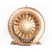 Wholesale 1.1kW Ultra High Pressure Ring Air Blower For Dental Suction , Golden Color from china suppliers