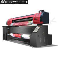Wholesale CRYSTEK Textile printer CT-TX1802 sublimation printer CMKY colors dual Epson dx5 printhead printing from china suppliers