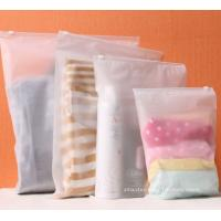 Wholesale BPA-Free Frosted Soft PEVA Travel Plastic Ziplock Bags Travel Kit Ziplock Pouches from china suppliers