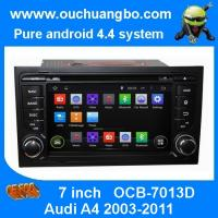 Wholesale Ouchuangbo Car GPS DVD System for Audi A4 2003-2011 Android 4.4 3G Wifi Bluetooth Audio St from china suppliers