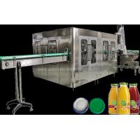 Wholesale Automatic Juice Flavor Glass Bottle Filling Machine , Water Bottling Equipment / Line from china suppliers