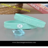Customize new style Debossed/Embossed/printed silicone wristband/silicone bracelet for sale