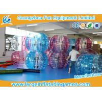 Wholesale TPU 1.5m Inflatable Bubble Ball Human bumper ball Balloon Soccer CE Certification from china suppliers