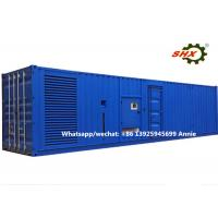 Wholesale 3 Phase 2400KW Industrial Container Diesel Generator Water Cooled from china suppliers