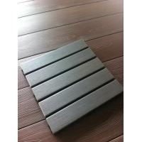 Wholesale PS plastic wood outdoor deck tiles with Splitting/flaking/warping/rot/mold/mildew resistance from china suppliers