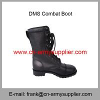 China Wholesale Cheap China Military Full Leather Direct Moulded Sole Army Combat Boot on sale