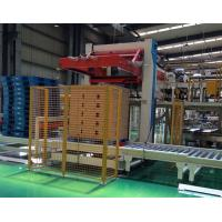 Quality 11KW Plastic Bottle Packaging Machine Auto Case Palletizer Machine 140MMH for sale