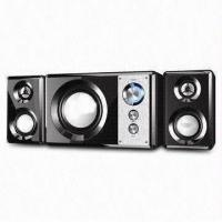 Wholesale Black Wooden Box Speaker with Subwoofer and 220V AC at 50Hz Power Input from china suppliers