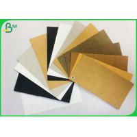 Tear Resistance And Durable 0.55MM Washable Kraft Paper For Wallet for sale