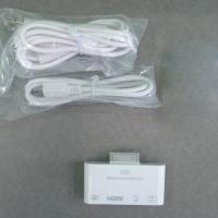 Quality HDMI Adapter AV Cable Camera Connection Kit For Apple iPad / iPad 2 for sale