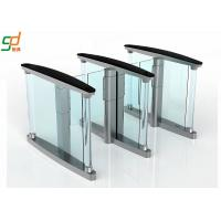 Wholesale Glass Wing Barrier Automatic Turnstiles Controlled Access Servo Driver from china suppliers