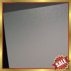 China PC Frosted Sheet,satin ice polycarbonate sheet,matt finish pc sheet,matt pc panel,pc board,high Impact resistance! on sale