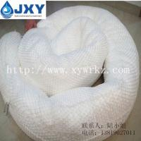 China 100% PP White Oil Absorbent Boom For Oil Spill Clean-up on sale