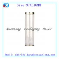 Wholesale tin cover and tin base wine gift tube from china suppliers