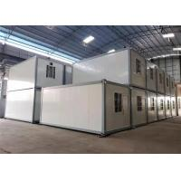 Quality Comfortable Prefabricated Container House / Prefab Shipping Container Homes for sale