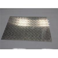 Wholesale Customized Aluminum Tread Plate Sheet Steamboat / Staircase Aluminium Chequer Plate from china suppliers