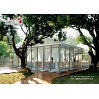 Wholesale 10x30m Luxury Alunimun Transparent Wedding Tent / Outdoor Event Party Tent from china suppliers