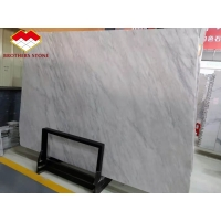 Wholesale Eastern White Marble Grey Veins White Marble Floor Tiles Decoration from china suppliers