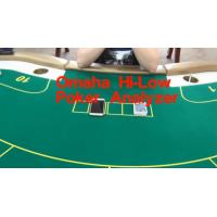 Wholesale Omaha Hi-Low Poker Analyzer to Know the High & Low Card Best Hand from china suppliers