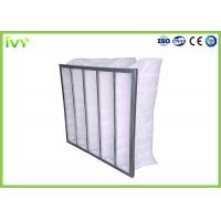 China Eco Friendly Bag Air Conditioner Filters , Bag Filters For HVAC Efficiency G3 - F9 on sale