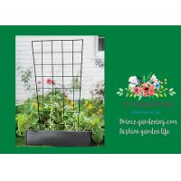 Sturdy Metal Vegetable Garden Trellis , Garden Green Bean Trellis
