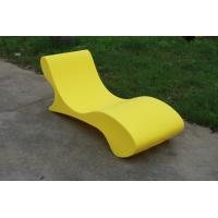 Wholesale Custom Glow Outdoor Pool Furniture , Lightweight Chaise Pool Chairs from china suppliers