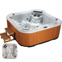 Wholesale High Quality 5 Person Outdoor Whirlpool Bathtub from china suppliers