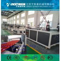 Wholesale PVC+ASA Composite Roof Tile Machine/PVC Roof Tile Manufacturing Machine/Spanish style Plastic Synthetic resin roof tile from china suppliers