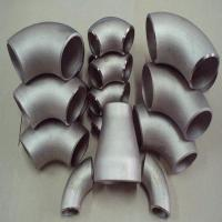 Wholesale baoji factory R60702 zirconium elbow 90 degree long type dia 530mm*6mm low price in China from china suppliers