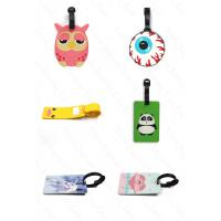 Yiwu Juguan Jewelry Co., Ltd Custom PVC Rubber Luggage Tag Travel Tag Flight Tag Related Products