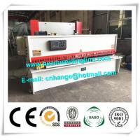 China 10x3200 NC Hydraulic Shearing Machine Swing Type Electric Controller System on sale