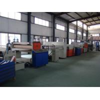 Wholesale Hollow Cross Section Plate Plastic Sheet Making Machine / Plastic Sheet Extruders from china suppliers