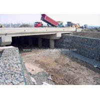 Wholesale Galvanized Gabion Box / Gabion Wall Baskets For Strengthening Soil Structure from china suppliers
